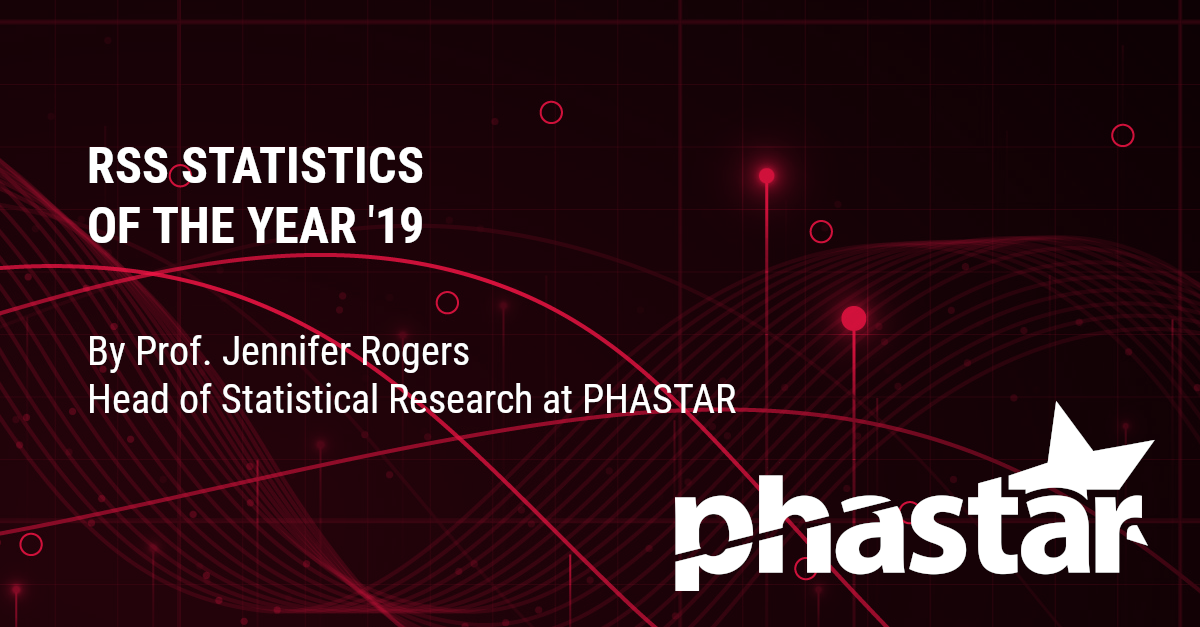 RSS 2019 Statistics of the Year