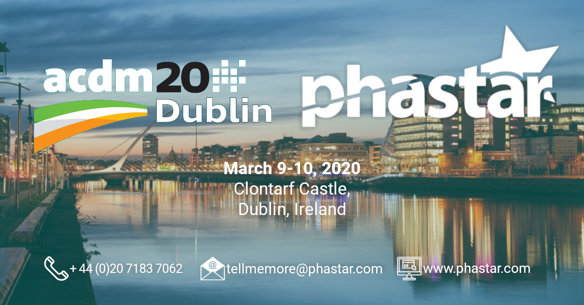 PHASTAR is a Premier Sponsor of ACDM 2020