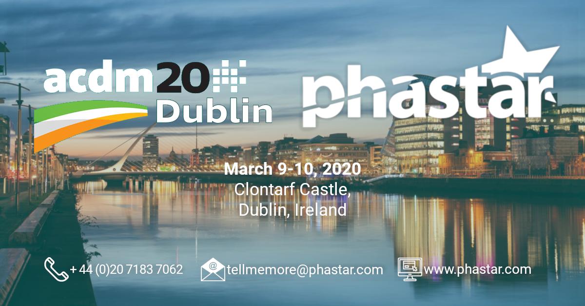 PHASTAR is a Premier Sponsor of ACDM 2020