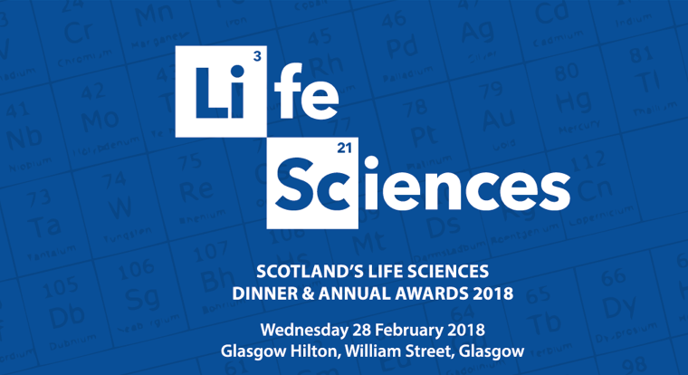 PHASTAR attending Scotland's Life Sciences Dinner & Annual Awards