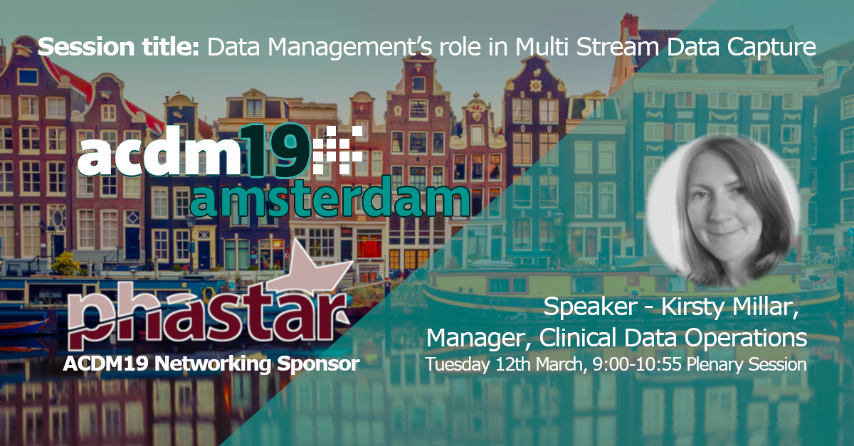 PHASTAR is presenting at ACDM 2019