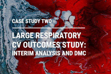 Large Respiratory CV Outcomes Study : Interim Analysis and DMC
