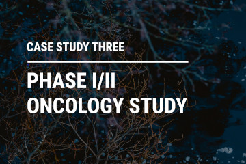 Phase I/II Oncology Study