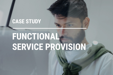 Functional service provision - case study