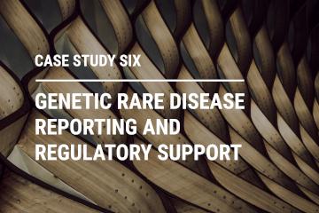 Genetic rare disease reporting and regulatory support