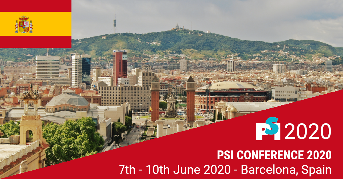 Meet PHASTAR at  the 2020 PSI Conference in Barcelona, Spain