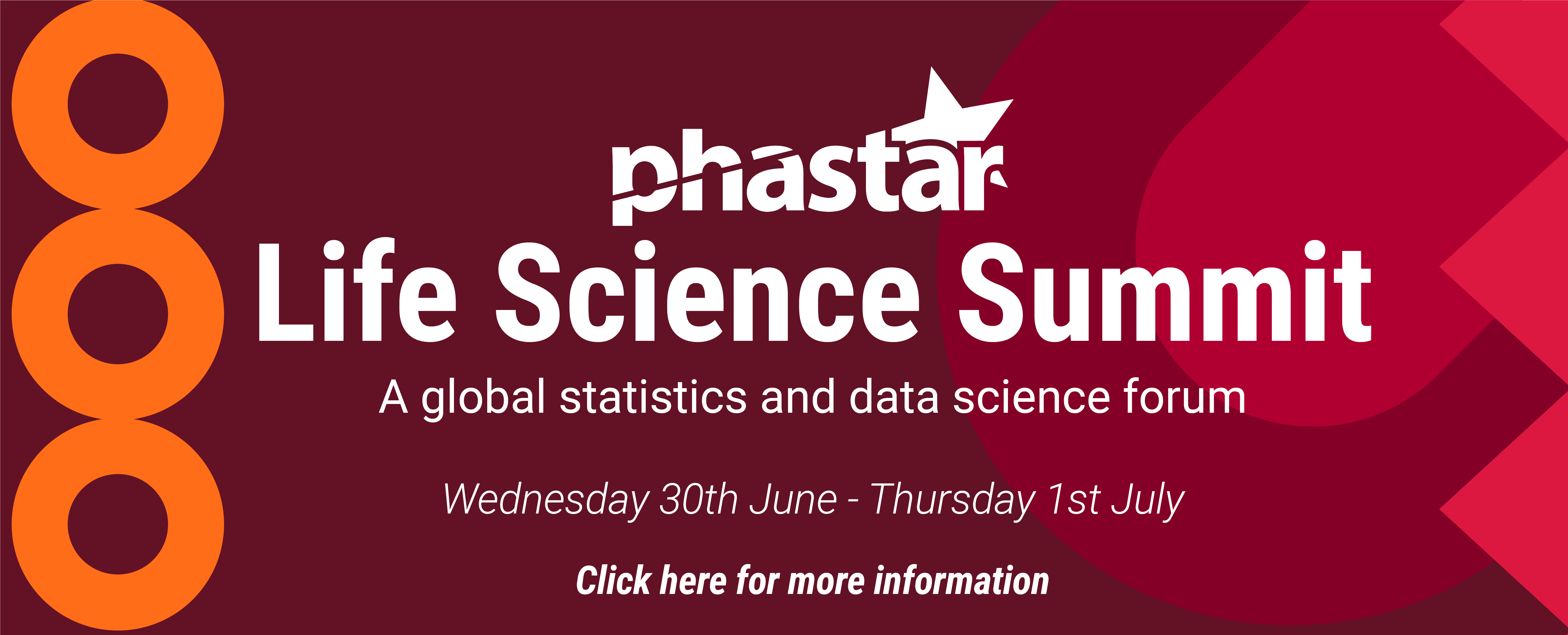 Join PHASTAR's Life Science Summit