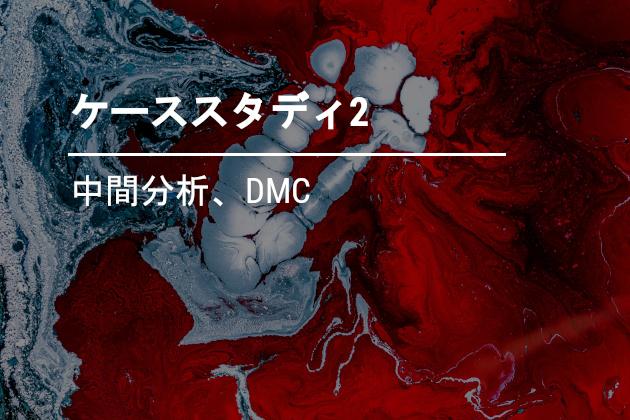 中間分析、DMC