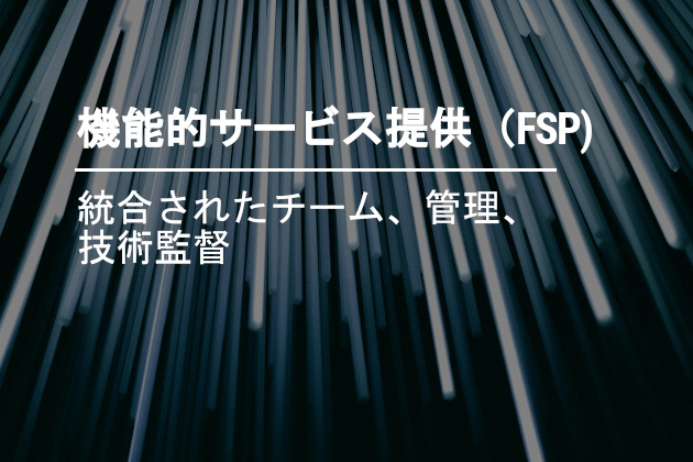 機能的なサービスの提供(FSP)