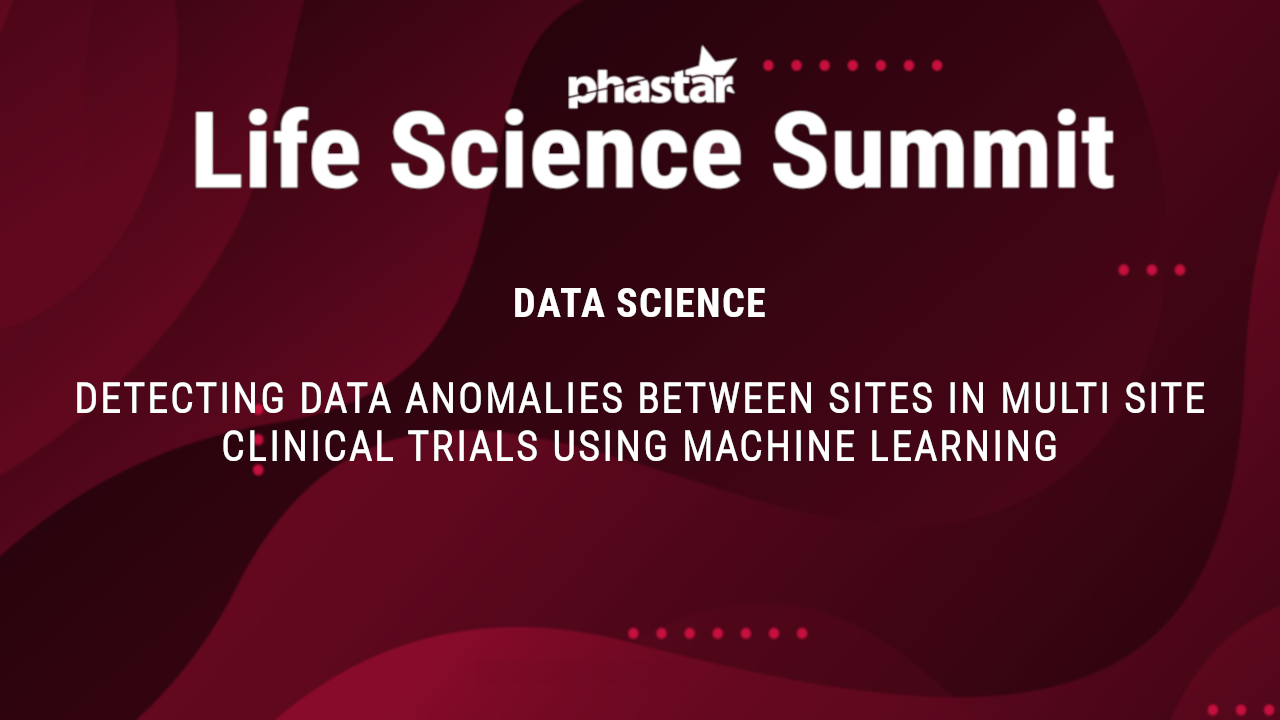 Detecting data anomalies between sites in multi site clinical trials using machine learning