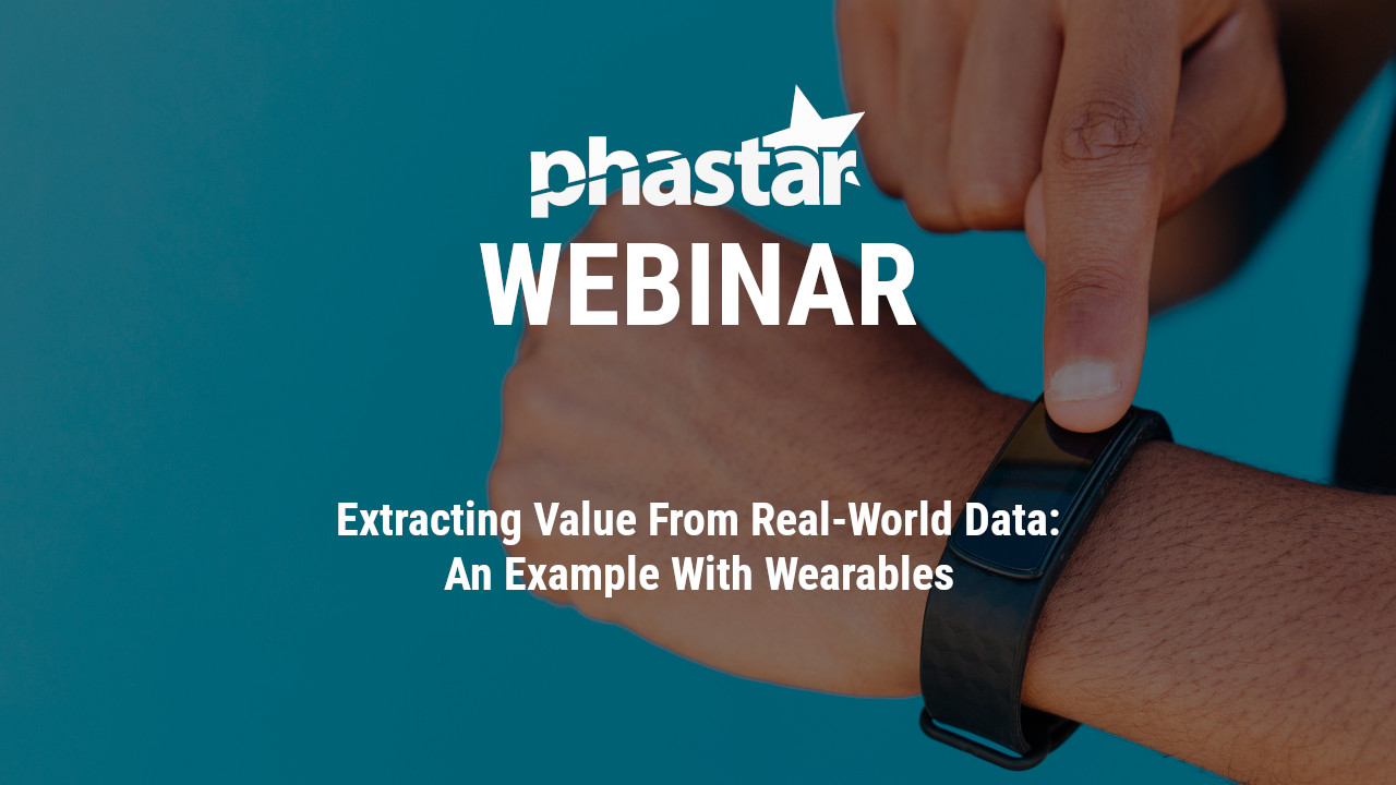 Extracting Value from Real-World Data: An Example with Wearables